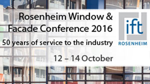 Rosenheim Window & Facade Conference 2016